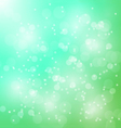 abstract bokeh blur green background vector image