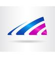 Abstract logo 011 vector image