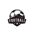 badge football soccer sport team league logo vector image vector image