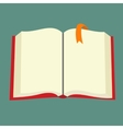 Best book flat icon vector image vector image