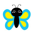 butterfly flying insect icon baby kids collection