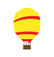 carnival air balloon vector image
