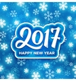 Happy New Year 2017 festive vector image vector image