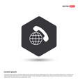 international call icon vector image