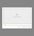 simple wall calendar august 2018 year flat vector image vector image