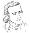 Sir William Hershel vector image vector image