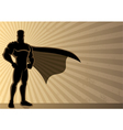 superhero background vector image vector image