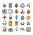 web design and development icons 3 vector image vector image