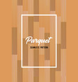 wooden texture seamless pattern parquet vector image vector image