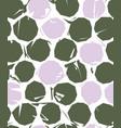 grunge dots seamless pattern vector image