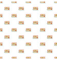 book college pattern seamless vector image vector image