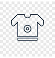 equiptment concept linear icon isolated on vector image vector image