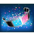 film 3D vector image