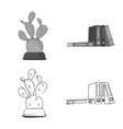 furniture and work icon vector image