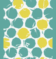 grunge dots seamless pattern vector image vector image