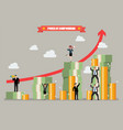 power compounding vector image vector image
