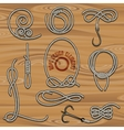 rope collection vector image vector image