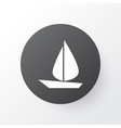 sail icon symbol premium quality isolated boat vector image vector image