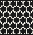 seamless pattern small shapes in hexagonal grid vector image vector image