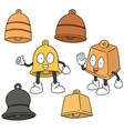 set of bell vector image vector image