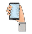 smartphone icon image vector image vector image