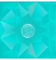 Abstract geometrical background The template vector image vector image