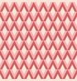 abstract pattern with rhombus vector image vector image