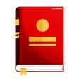 book or album vector image vector image