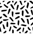 brush strokes seamless pattern vector image vector image