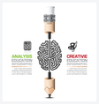 Education And Learning Step Infographic vector image