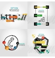 Hand drawn internet concepts and stickers vector image