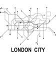 London subway map vector image