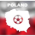 Polish Abstract Map vector image