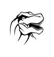 rex raptor logo template vector image vector image