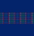 scottish black watch tartan vector image vector image