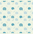 Seamless background with sea shells in sketch