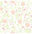 Trendy Seamless Floral Print Cute little flowers vector image vector image