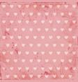beautiful pink vintage background vector image