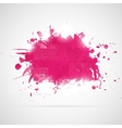 Abstract background with pink paint splashes vector