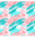 abstract green and pink with grunge vector image vector image