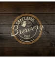 Brewery badges logos and labels for any use vector image