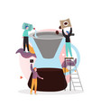 chemex coffee concept for web banner vector image