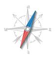 Compass conceptual sign vector image vector image