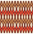 ethnic pattern with zigzag lines vector image