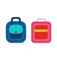 female handbagspractical briefcases backpack vector image vector image