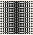 geometric halftone seamless pattern hipster vector image vector image
