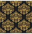 Golden glitter seamless pattern background vector image vector image