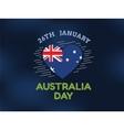 Happy Australia day design vector image vector image