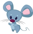 little funny mouse vector image vector image