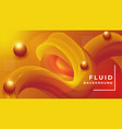 luxury abstract fluid background design template vector image vector image